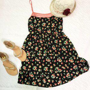 Lottie & Holly apple print dress